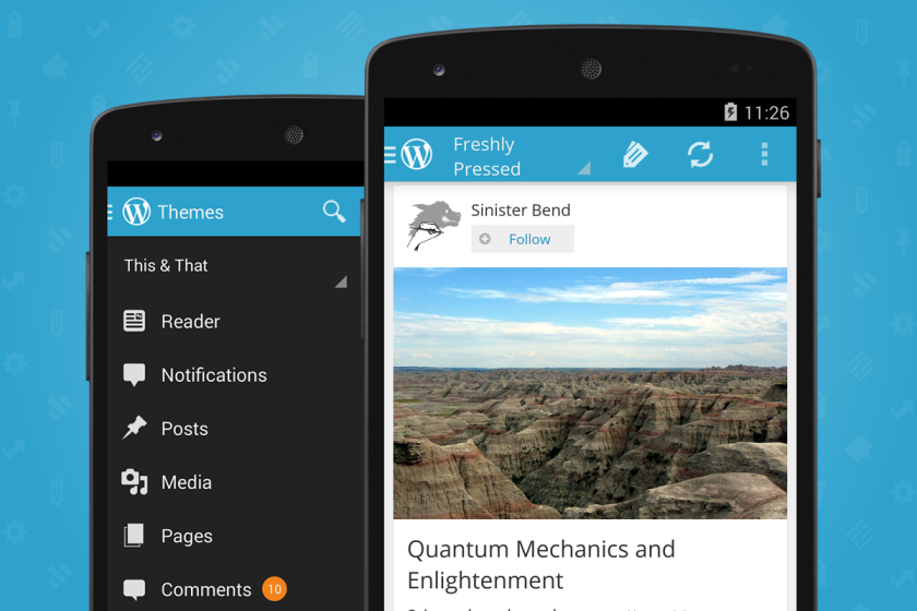 WordPress for Android 2.6